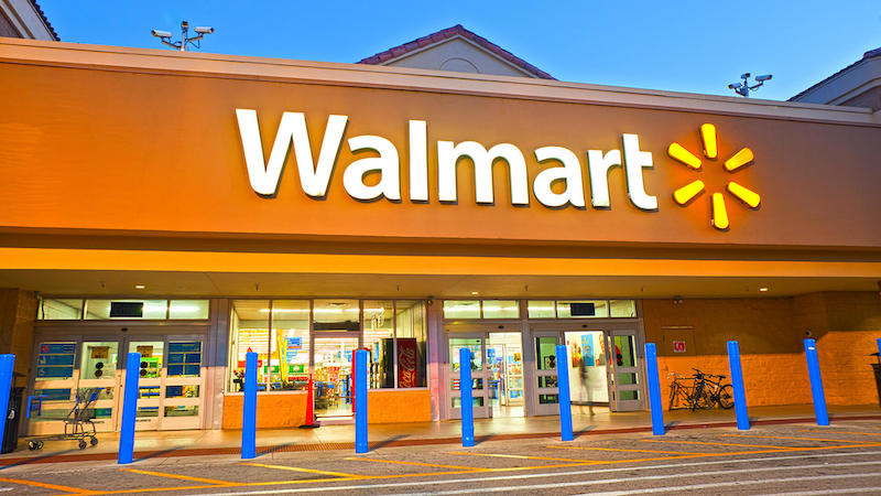 Orange Walmart store