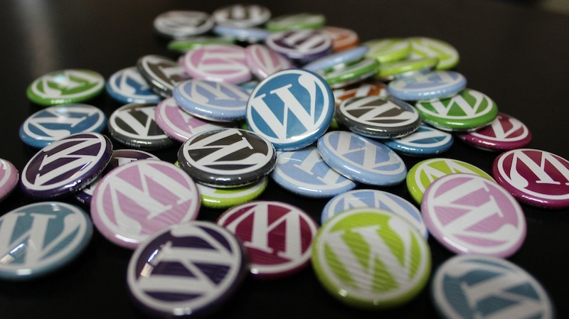 Wordpress badges of various colors