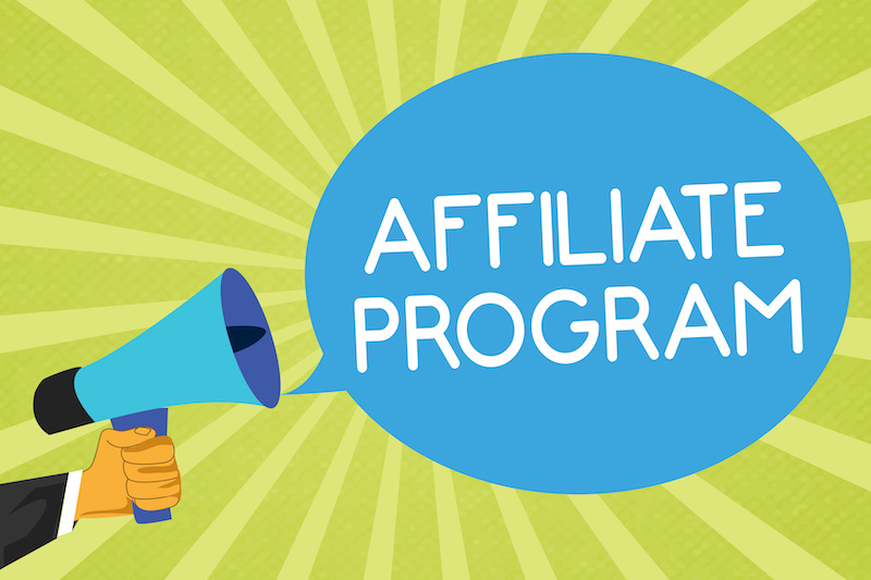 Affiliate Program with megaphone