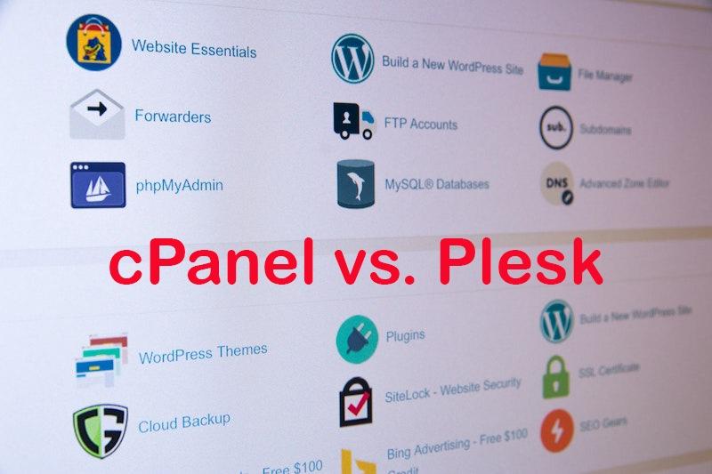 cPanel vs. Plesk