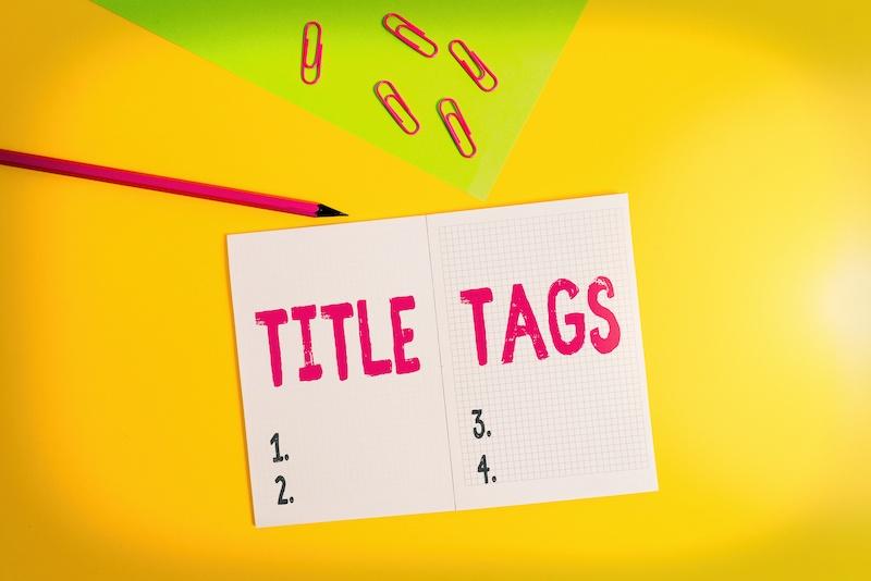Title Tag SEO