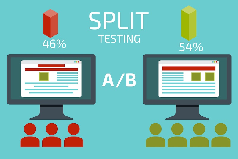 split testing In your online business