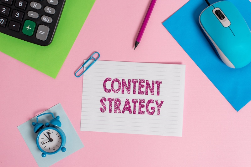 content strategy for your blog