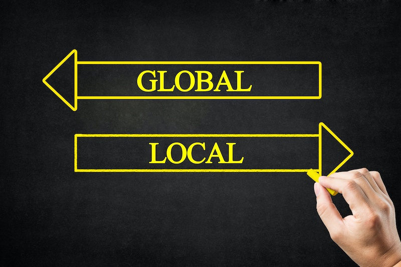 global vs. local search
