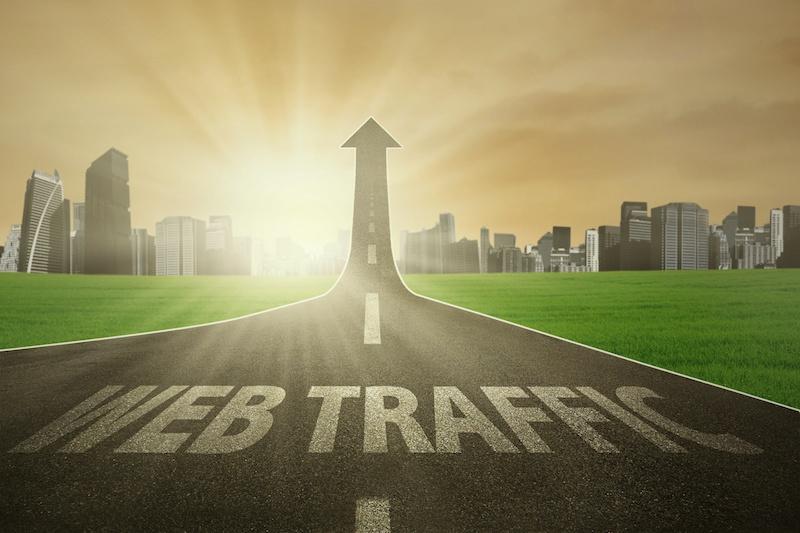 high-traffic blog