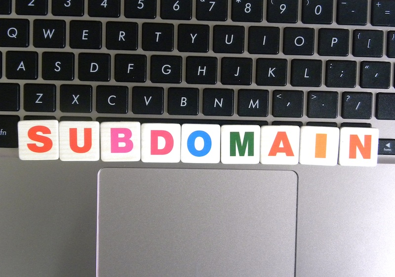how to point subdomain different server
