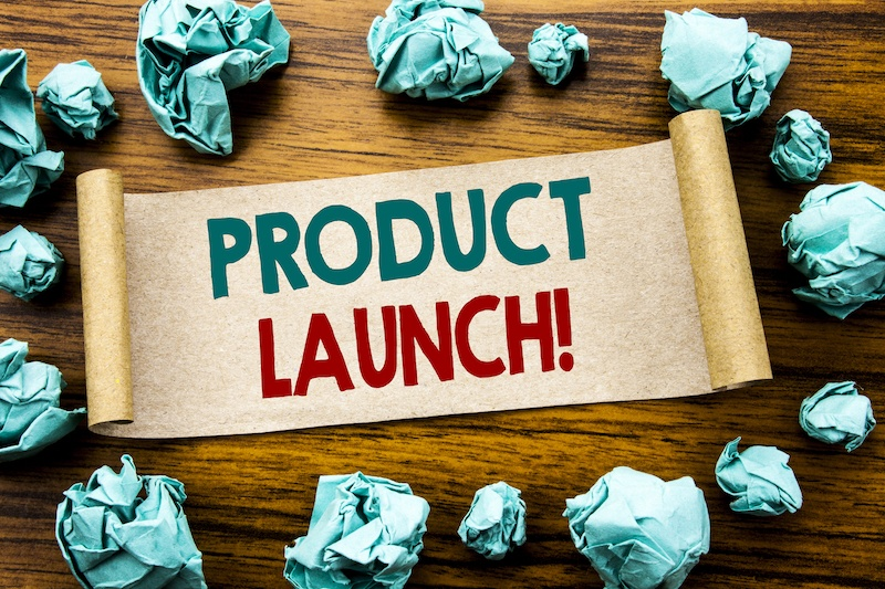 launch a new product online