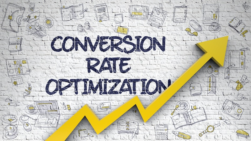 website's conversion rate optimization