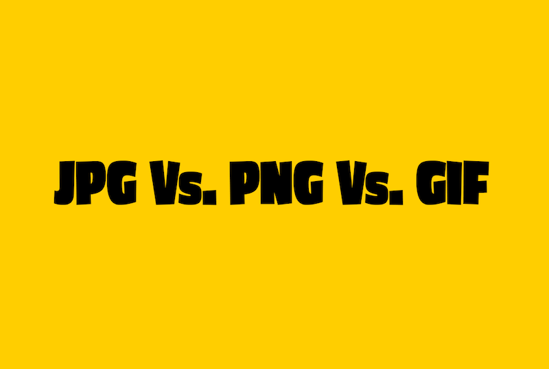 jpg vs. png vs. gif